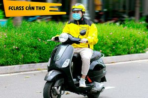 Fclass Bike: Shipper giao hàng Cần Thơ
